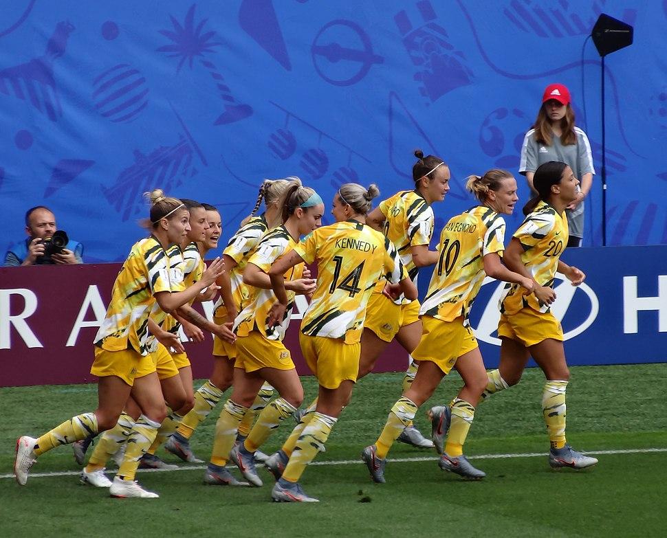 Australie Team (Women World Cup France 2019)