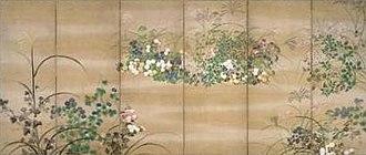 Ogata Kōrin - Image: Autumn Grasses