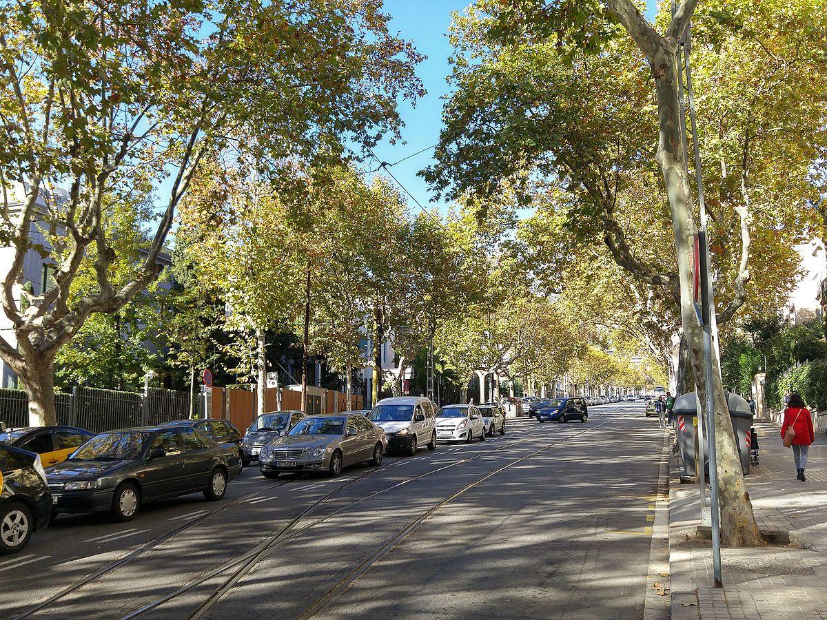 Avinguda del tibidabo viquip dia l 39 enciclop dia lliure - Placa kennedy barcelona ...