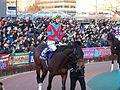 Awardee and Yutaka Take in Tokyo Daishoten at Oi racecourse (31952382126).jpg