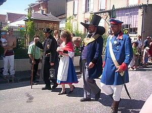 Ay, Marne - Image: Ay Les fêtes Henri IV 2