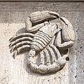 Büro- und Verwaltungsgebäude Von-Werth-Straße 14, Köln-Tierkreis-Reliefs von Willy Hoselmann-0777.jpg