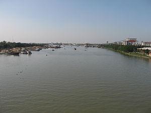 Shitalakshya River - Shitalakhya River near Narayanganj