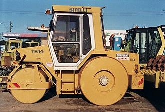 Bitelli S.p.a. - A Bitelli three point road roller