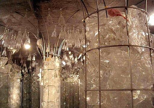 Bosco di cristallo nel Museo del Cristallo