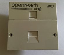 British telephone socket wikipedia bt fibre to the cabinet fttc vdsl faceplate asfbconference2016 Images