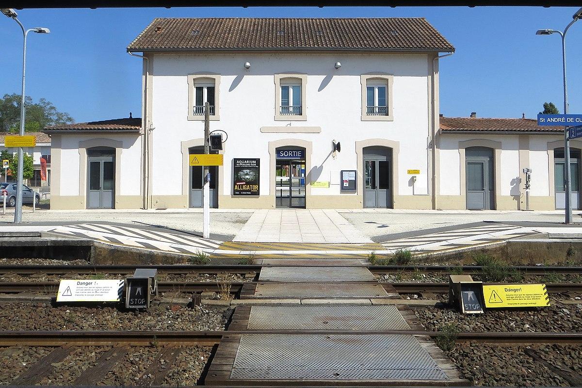 Gare de saint andr de cubzac wikip dia for Agence st andre de cubzac