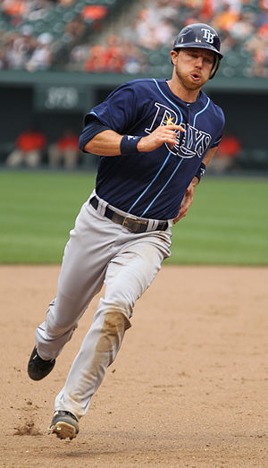 Ben Zobrist - Zobrist during his tenure with the Tampa Bay Rays in 2011