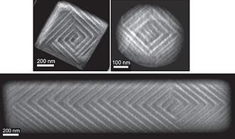 Barium titanate - Image: Ba Ti O3 ferro domains