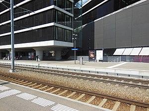 Sihltal railway line - The line serves the modern Sihlcity