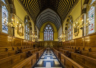Balliol College, Oxford - The interior of the chapel