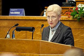 Irena Degutienė Lithuanian politician