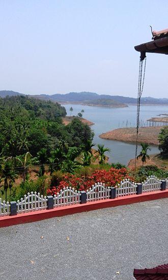 Banasura Sagar Dam - Banasura Sagar Long View