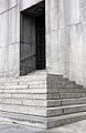 Banco Republica central - Escalera trasera.JPG