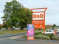 BandQ sign on Holmer Road, Hereford - geograph.org.uk - 1543766.jpg