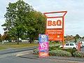 BandQ sign on Holmer Road, Hereford - geograph.org.uk - 1543766.jpg
