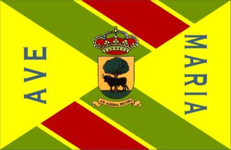 Buitrago del Lozoya - Image: Bandera de Buitrago del Lozoya