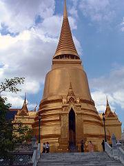Phra Sri Rattana Chedi im Wat Phra Kaeo