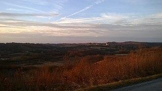 Banovina (region) - Banovina in January 2016