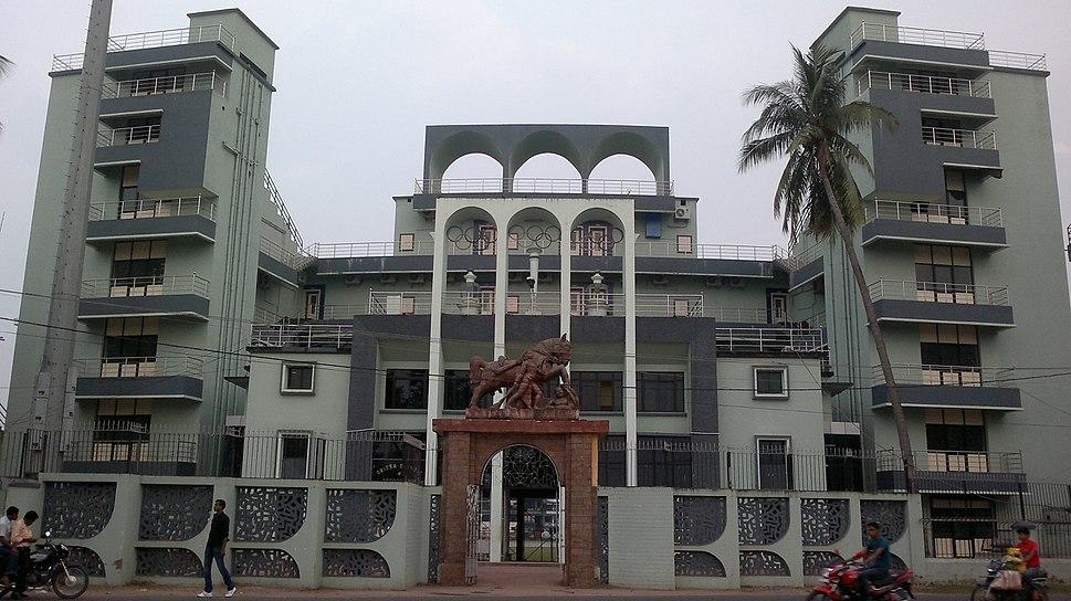 Barabati Stadium Entrance