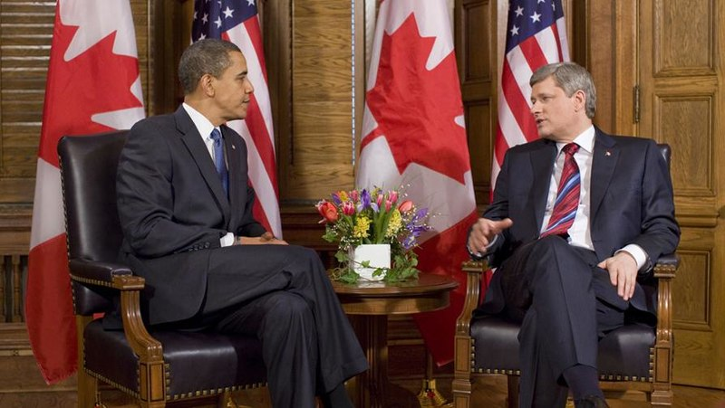 Barack Obama meets Stephen Harper.jpg