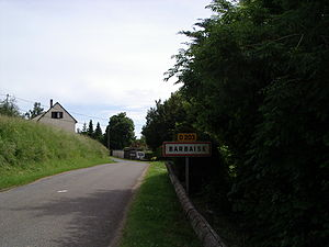 Barbaise - Entry to Barbaise