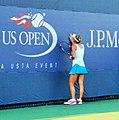 Barbora Záhlavová-Strýcová at the 2010 US Open 07.jpg