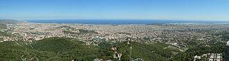 Tibidabo - Image: Barcelona. View from Tibidabo