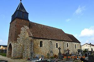 Barenton-Cel - Image: Barenton Cel Church