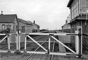 Barlow, North Yorkshire - Until 1964 Barlow had a railway station on the Selby to Goole branch