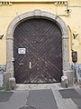 Baroque house. Listed ID 7525. Gate. - 47 Köztársaság St., Vác.JPG