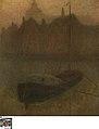 Barque sur le Canal (matin) (Boot op het Kanaal ('s morgens)), circa 1905, Groeningemuseum, 0040126000.jpg