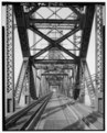 Barrel view from east end, looking toward swing span. - Pennsylvania and New Jersey Railroad, Delaware River Bridge, Spanning Delaware River, south of Betsy Ross Bridge (State HAER PA,51-PHILA,720-16.tif