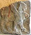 Basalt wall slab, relief, from Sam'al, Turkey, 10th-8th century BCE. Double-headed sphinx. Pergamon Museum, Berlin, Germany.jpg