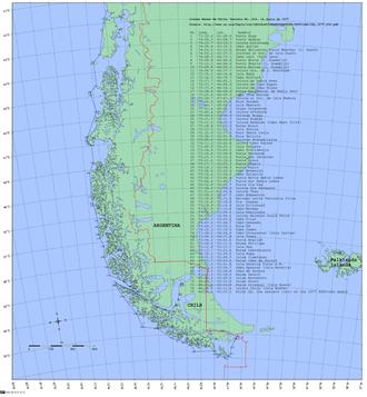 Baseline (sea) - Chilean Baseline