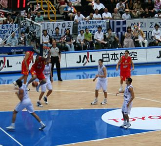 2006 FIBA World Championship - Scene from the final