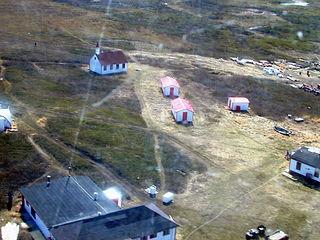 Settlement in Nunavut, Canada