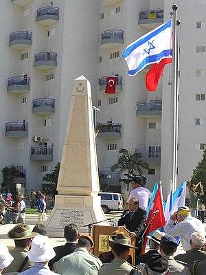 Israel–Turkey relations - Memorial for fallen Ottoman soldiers, Beersheba.