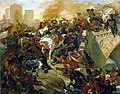 Battle of Taillebourg by Delacroix.jpg