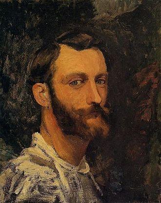 Frédéric Bazille - Image: Bazille, Frédéric Self Portrait