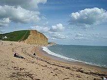 Beach, West Bay - geograph.org.uk - 1288472.jpg