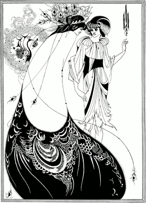 """The Peacock Skirt"", illustration by..."