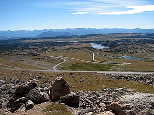 Switchbacks on Beartooth Highway