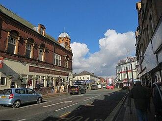 Bearwood, West Midlands - Bearwood Road by The Bear