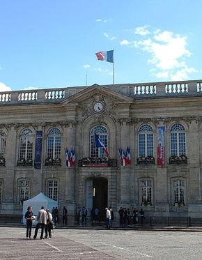 La sede della mairie (municipio) di Beauvais