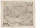 Befästningsplan vid del av floden Maas vid orten Gennep, 1641 - Skoklosters slott - 99053.tif