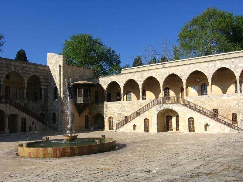 Beiteddine Palace InnerCourtyard
