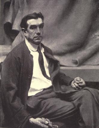 Bela Pratt - Portrait of sculptor Bela Lyon Pratt by Howard E. Smith