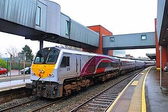 Enterprise (train service) - Belfast Central (2)