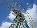 Bellevue ferris wheel in construction.jpg